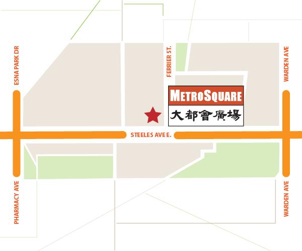 Metro Square - Location Map